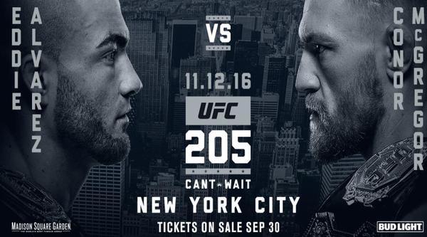 Watch UFC 205 Alvarez Vs McGregor Live 11/12/16 Online Full Show