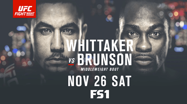 Watch UFC FightNight 101 – Whittaker Vs Bruson 11/26/16 Live Online Full Show | 26th November 2016