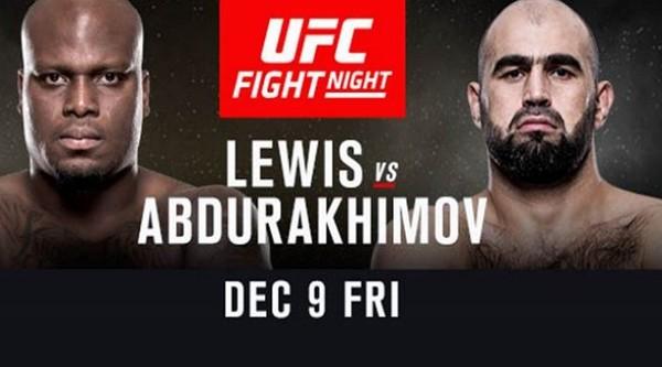 UFC FightNight 102 LEWIS VS ABDURAKHIMOV video Watch Online 12/9/16 9th December 2016 This Week