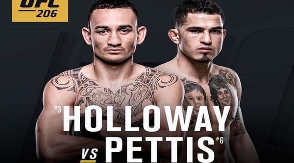 Watch UFC 206 – Holloway Vs Pettis 12/10/16 Live Online Full Show | 10th December 2016