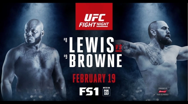 Watch UFC FightNight 105 Lewis vs Browne 2/19/17 Live Online Full Show | 19th February 2017