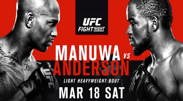 Watch UFC Fight Night 107 Manua Vs Anderson 3/18/17 Live Online Full Show | 18th March 2017