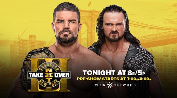 Watch WWE NxT TakeOver Live Brooklyn III 8/19/17 Live Online Full Show | 19th August 2017