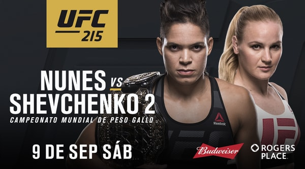 Watch UFC 215 Nunes Vs Shevchenko 2 9/9/17 Live Online Full Show | 9th September 2017