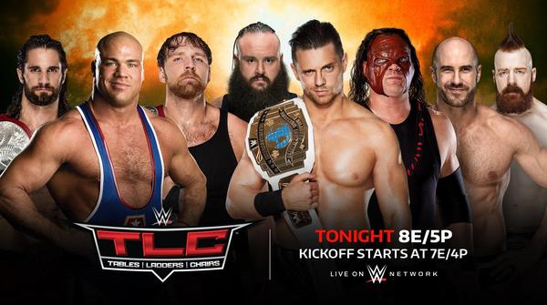 Watch WWE Tables Ladders And Chairs – TLC PPV 2017 10/22/17 Live Online Full Show | 22nd October 2017