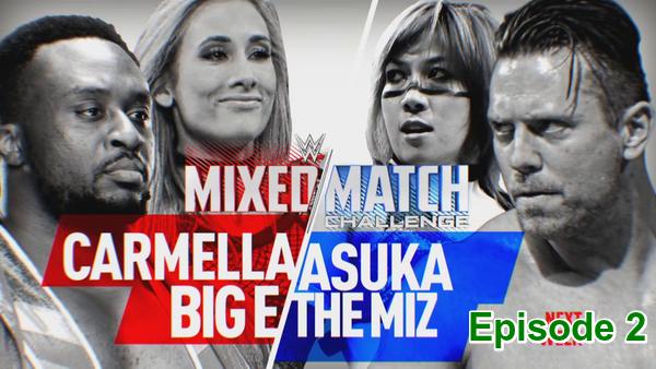 WWE Mixed Match Challenge S01E02 Episode 2