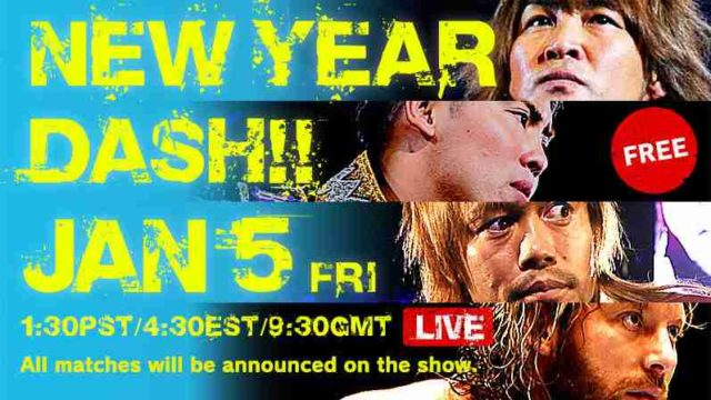 Watch NJPW New Year Dash Tokyo 1/5/18 Live Online Full Show | 5th January 2017