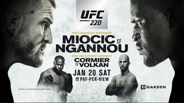 UFC 220 Miocic Vs Ngannou