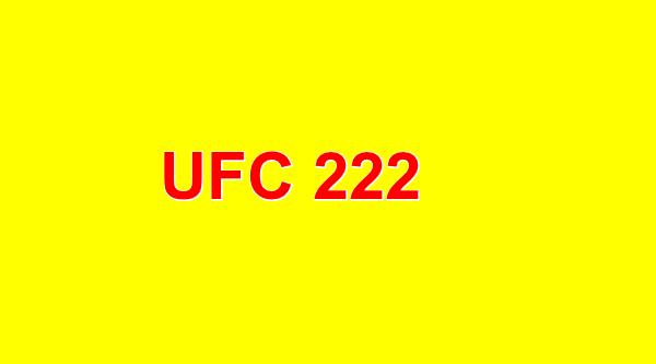 UFC 222 PPV Cyborg Vs Kunitskaya
