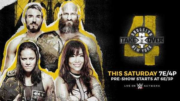 Watch WWE NxT TakeOver Brooklyn IV 4 PPV 8/18/18 Live Online Full Show | 18th August 2018