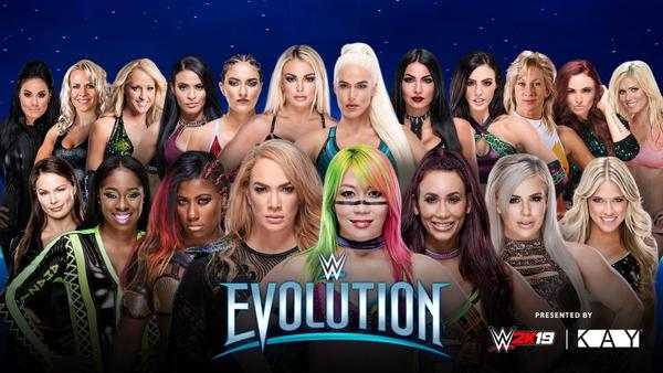 Watch WWE Evolution 2018 PPV 10/28/18 Live Online Full Show | 28th October 2018