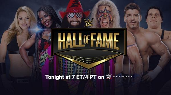 Watch WWE Hall Of Fame 2019 4/6/19 Live Online Full Show