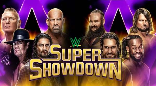 WWE Super Showdown 2019 PPV video Watch Online 6/7/19 7th June 2019 This Week