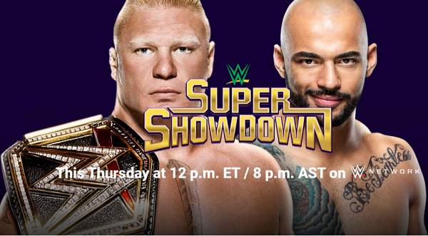 WWE Super Showdown 2020 PPV 2/27/20