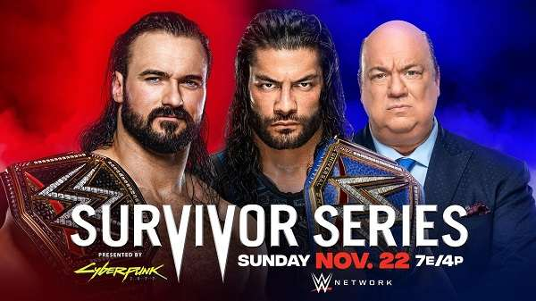 Watch WWE Survivor Series 2020 PPV 11/22/20 Live Online Full Show | 22nd November 2020