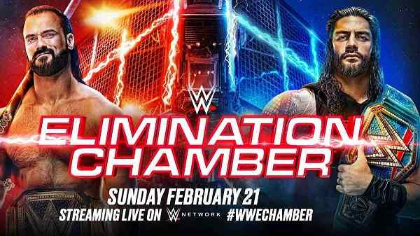 Watch WWE Elimination Chamber PPV 2/21/21 Live Online Full Show | 21st February 2021
