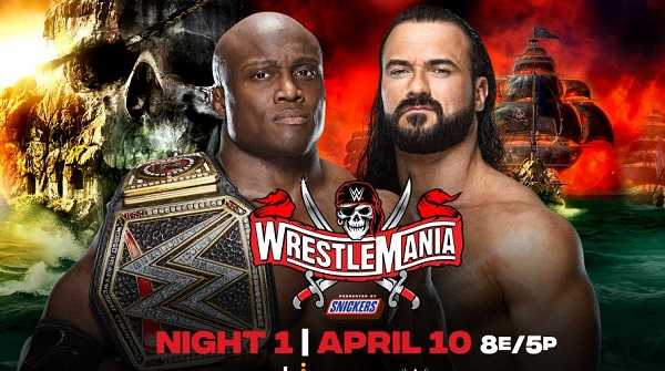 Watch WrestleMania 37 Night 1 PPV 4/10/21 Live Online Full Show | 10th April 2021