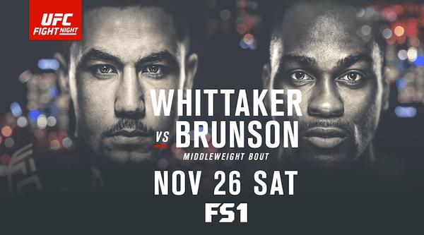 Watch UFC FightNight 101 – Whittaker Vs Bruson 11/26/16 Live Online Full Show | 26th November 2016
