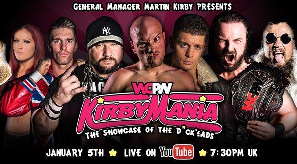 Watch WCPW KirbyMania 2017 1/5/17 Live Online Full Show | 5th January 2017