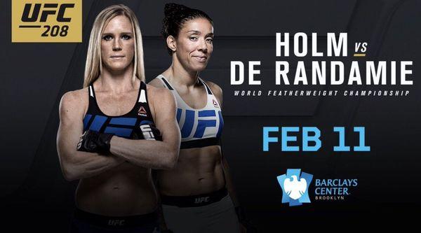 UFC 208 Holm Vs De Randamie video Watch Online 2/11/17 11th February 2017 This Week