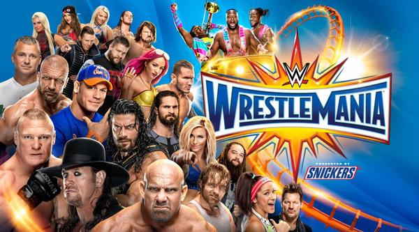 Watch WWE Wrestlemania 33 2017 4/2/17 Live Online Full Show | 2nd April 2017