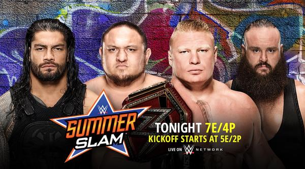 Watch WWE SummerSlam 2017 Live PPV 8/20/17 Live Online Full Show | 20th August 2017