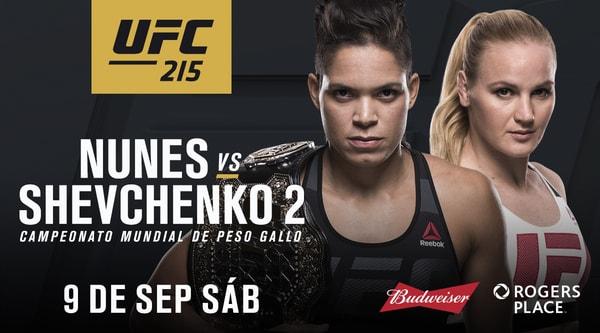 Watch UFC 215 Nunes Vs Shevchenko 2 9/9/17 Live Online Full Show | 9th September 2017