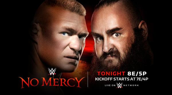 Watch WWE No Mercy 2017 9/24/17 Live Online Full Show | 24th September 2017