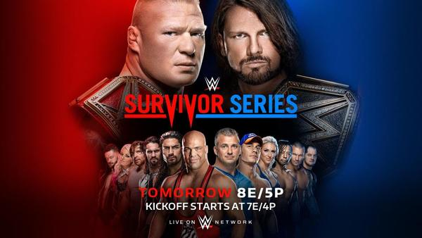 Watch WWE Survivor Series 2017 PPV 11/19/17 Live Online Full Show | 19th November 2017