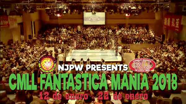 NJPW CMLL Fantastica Mania 2018 Day 1