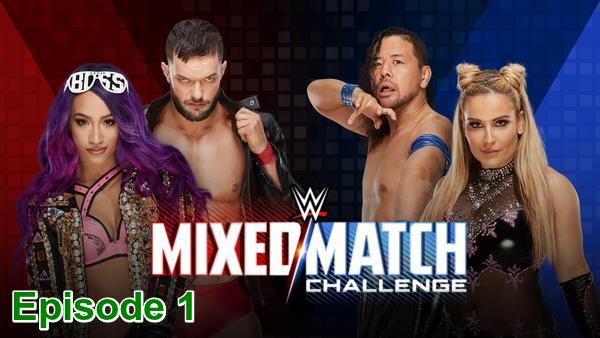 WWE Mixed Match Challenge Nakamura & Natalya Vs FinnBalor & Sasha Banks S01E01