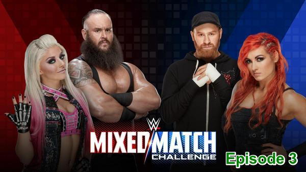 Watch WWE Mixed Match Challenge S01E03 Season 1 Episode 3 Live Online Full Show