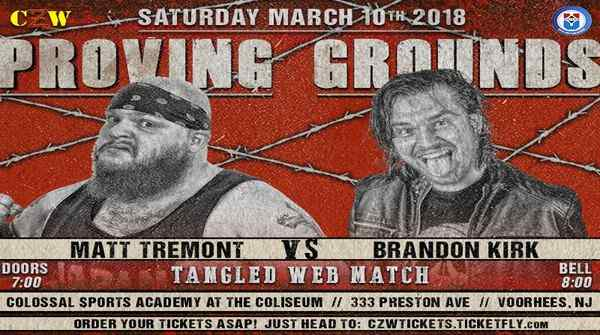 Watch CZW Proving Grounds 31018 Live Online Full Show