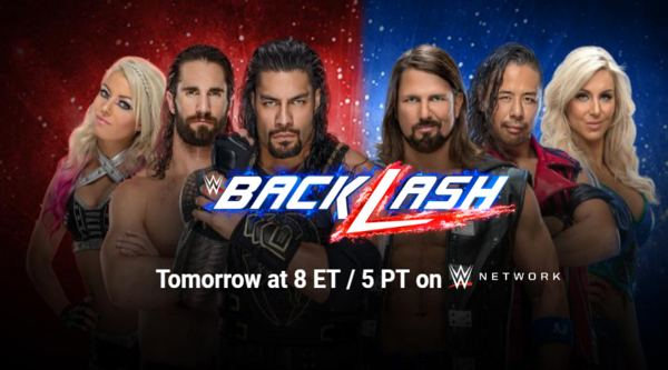 Watch WWE BackLash 2018 PPV 5/6/18 Live Online Full Show | 6th May 2018