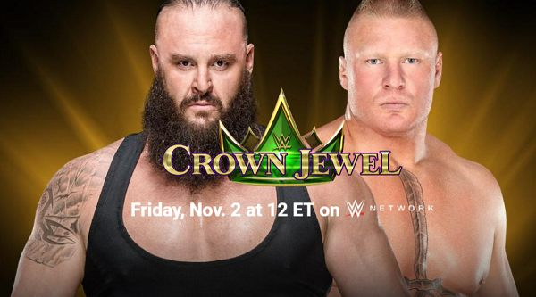 Watch WWE Crown Jewel 2018 PPV 11/2/18 Live Online Full Show | 2nd November 2018