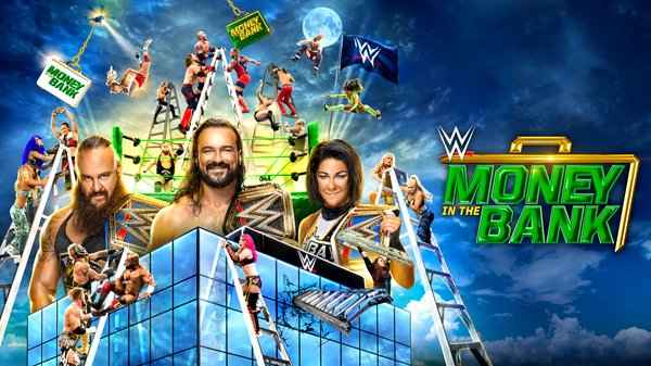 WWE Money In the Bank 2020 PPV 5/10/20