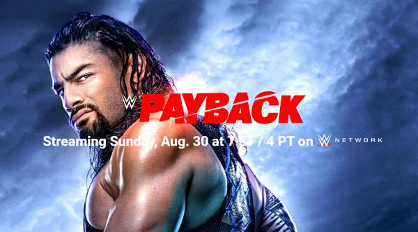 Watch WWE Payback 2020 PPV 8/30/20 Live Online Full Show | 30th August 2020