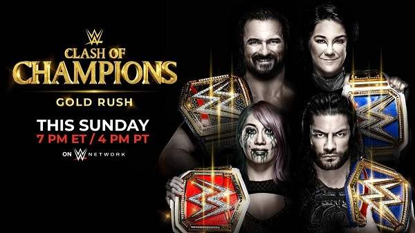 Watch WWE Clash Of Champions 2020 PPV 9/27/20 Live Online Full Show | 27th September 2020