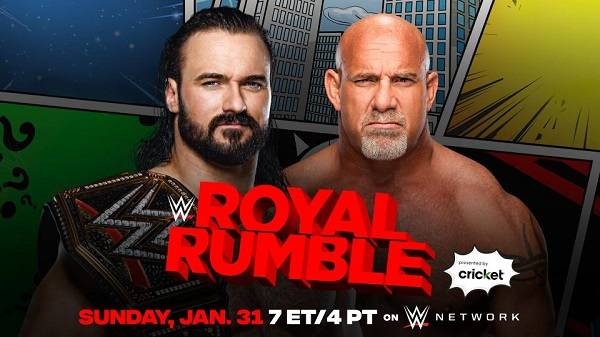 Watch WWE Royal Rumble PPV 2021 PPV 1/31/21 Live Online Full Show | 31st January 2021