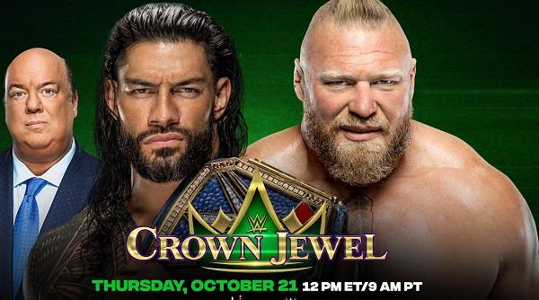 Watch WWE Crown Jewel 2021 PPV 10/21/21 Live Online Saudi Arabia Full Show | 21st October 2021